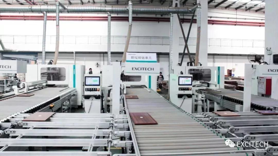 Dây chuyền sản xuất nội thất gỗ công nghiệp (EXCITECH)