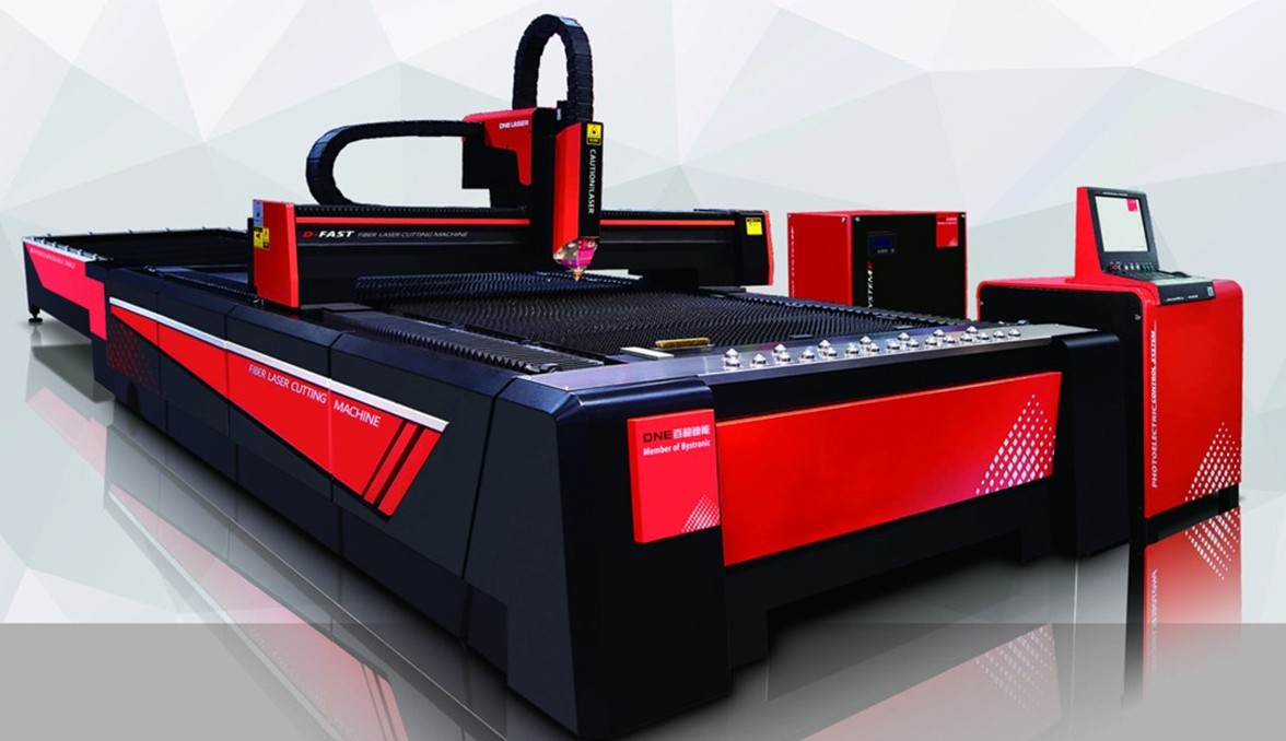 Máy cắt Kim Loại Fiber Laser
