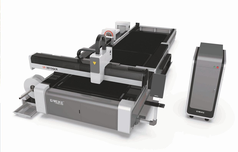 Máy Cắt Kim Loại Tấm & Ống Fiber Laser