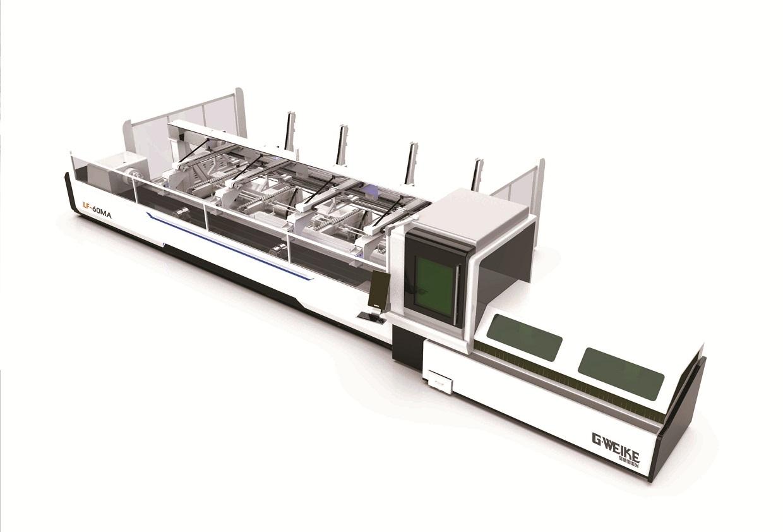 Máy Cắt Kim Loại Ống Fiber Laser (Thay Ống Tự Động)