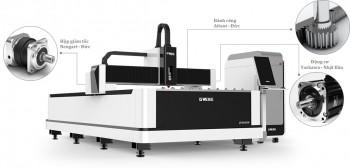 Máy Cắt Kim Loại Fiber Laser Tốc Độ Cao